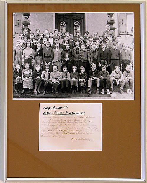 O21 - Schulklasse 1955